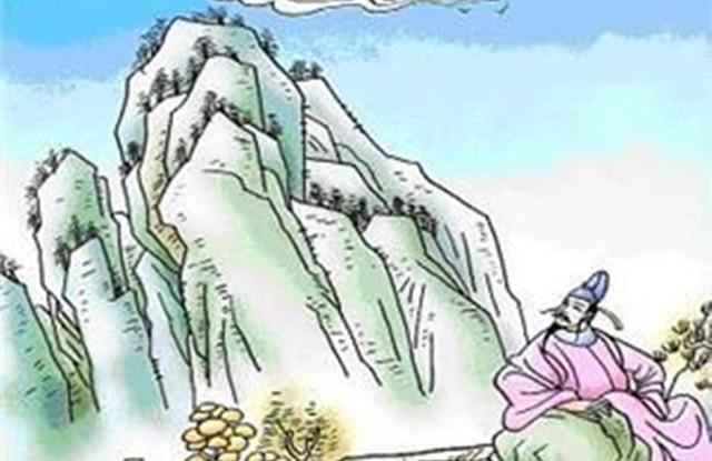 《独坐敬亭山》